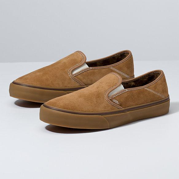 Vans Suede Und Sherpa Classic Slip on Schuhe ((suedesherpa