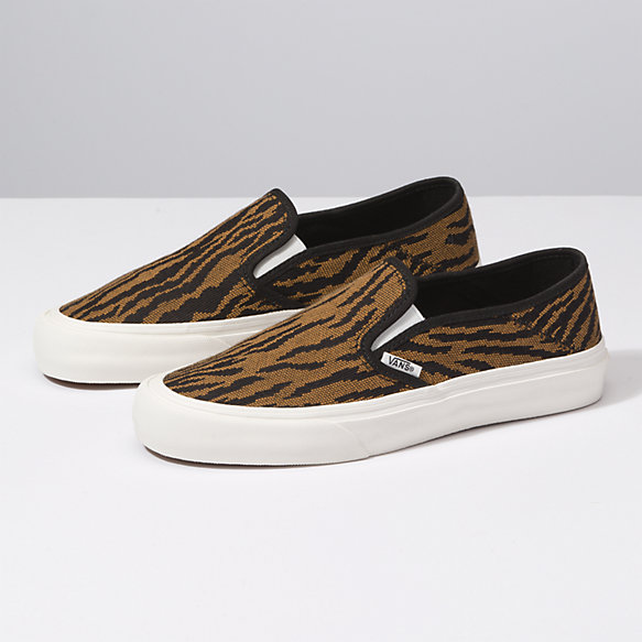 Woven Tiger Slip-On SF