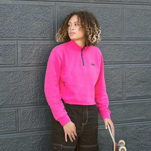 Thread It Mock Quarter Zip Pullover