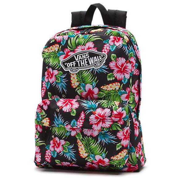 Realm Hawaiian Floral Backpack Shop Womens Backpacks At Vans
