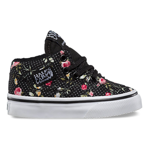 Toddlers Floral Dots Half Cab