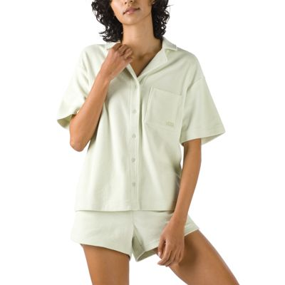 DAY TRIPPER TERRY CLOTH BOXY TOP