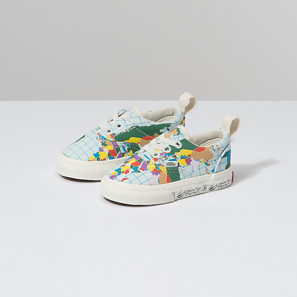 Save Our Planet X Vans Toddler Era Elastic Lace