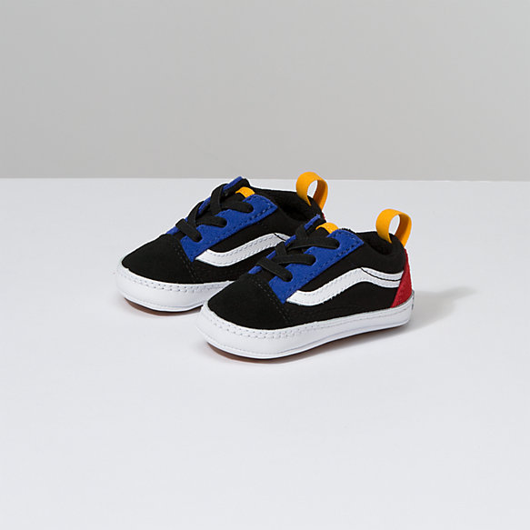 Infant Color Block Old Skool Crib