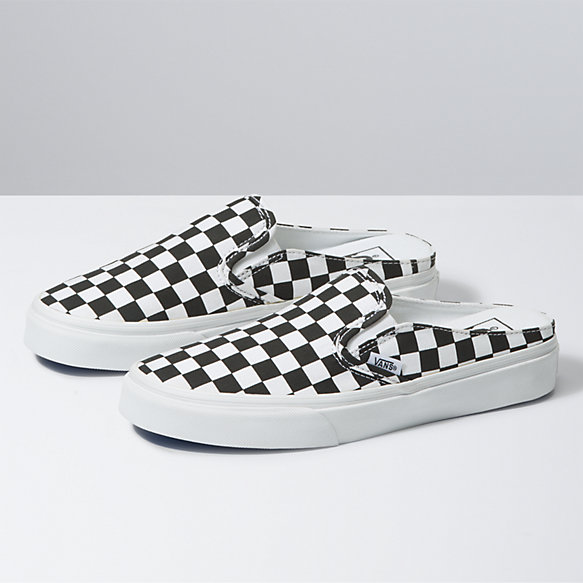 Checkerboard Classic Slip-On Mule