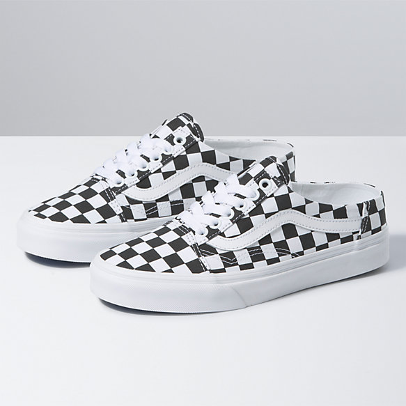 Checkerboard Old Skool Mule