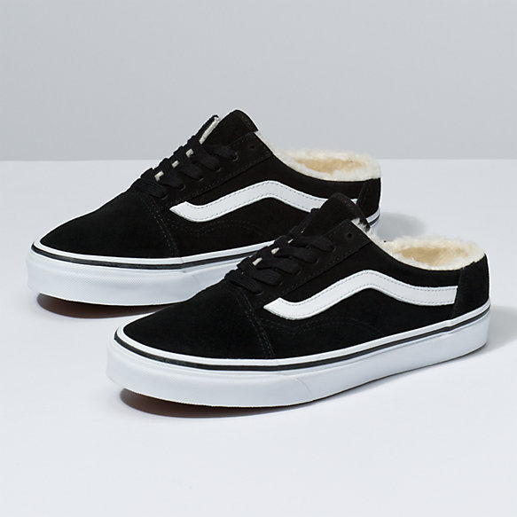 Suede Old Skool Mule