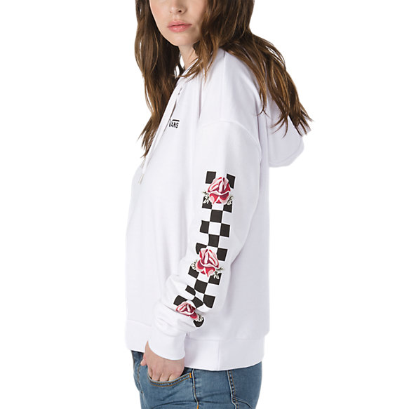 Sweatshirts At Checker Womens Vans Patchwork Shop Hoodie qvw4OA