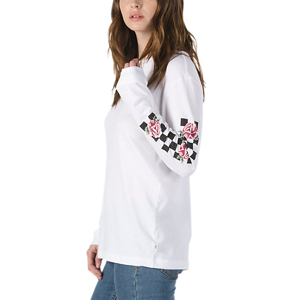 8f97e8fa8a6 Patchwork Floral Long Sleeve T-Shirt