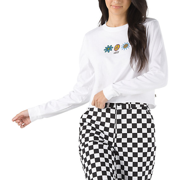 Unity Long Sleeve Cropped Tee