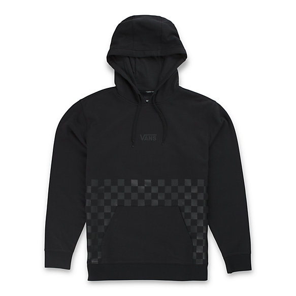 Checkered Stamp Pullover Hoodie