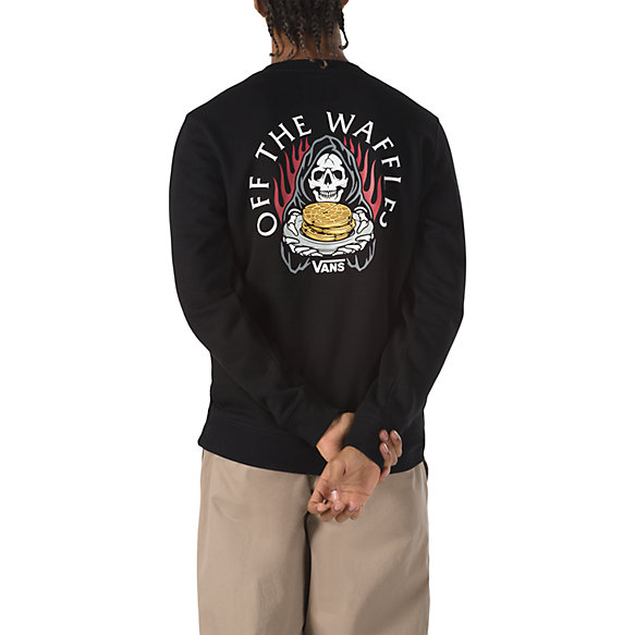 Waffle Plate Crew Pullover