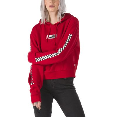 vans classic cropped pullover hoodie