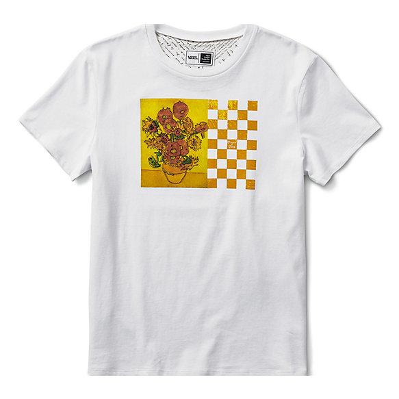 Van Vincent Gogh Sunflower Vans Ca Tee Boyfriend Store X Eaqw1