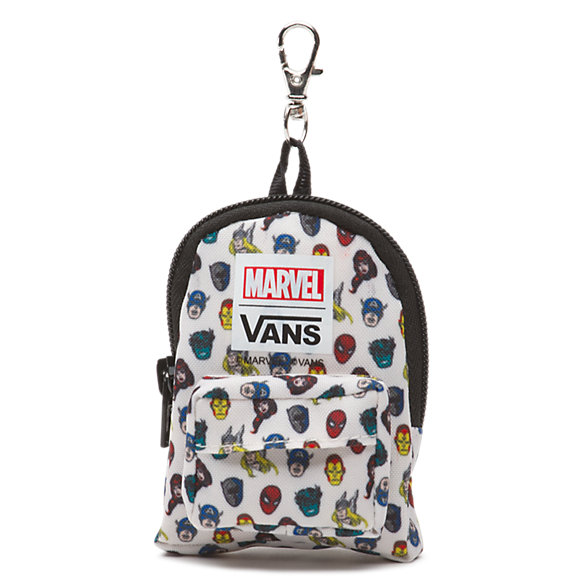 Vans x Marvel Heads Backpack Keychain