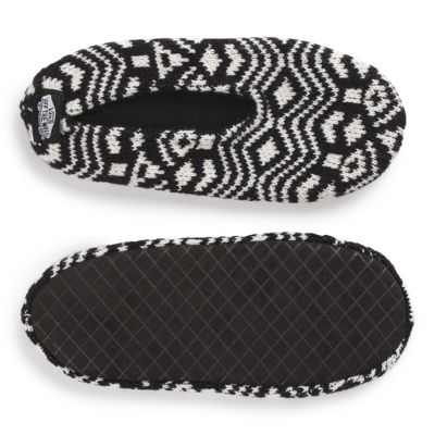 Womens Slippers Vans Slippin Slippers Black/White