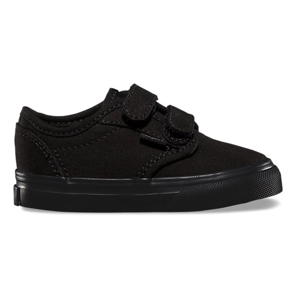 vans atwood low black leather