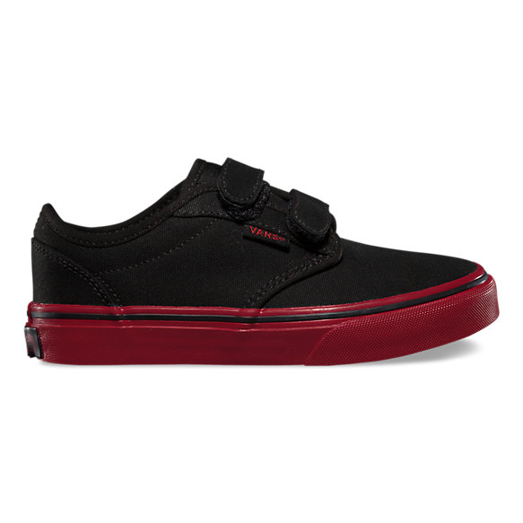 vans black atwood velcro trainers nz