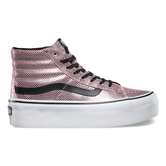 5c68411bc0 Metallic Snake SK8-Hi Platform | Shop Shoes At Vans