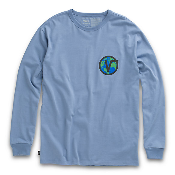 Off The Wall Classic Globe Long Sleeve Tee