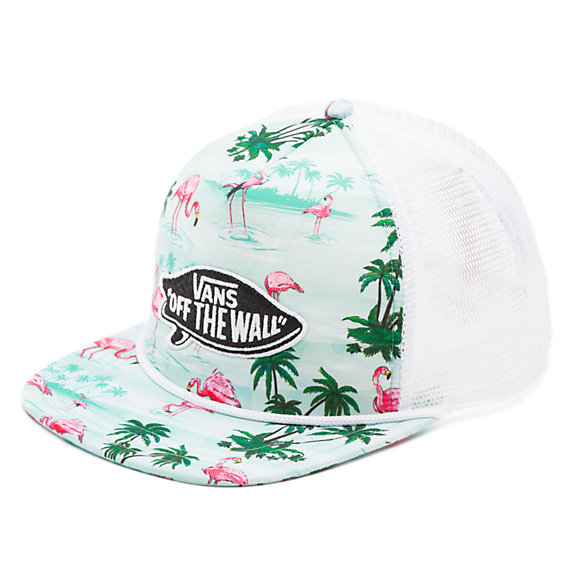 b3732fe9a6f Pink Flamingo Trucker Hat