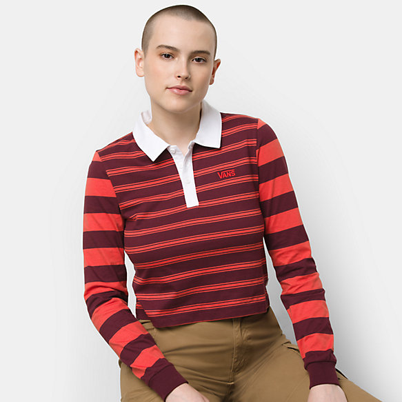 Stripe Block Polo Shirt