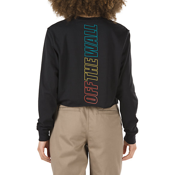 Dome Grown Cropped Long Sleeve Tee
