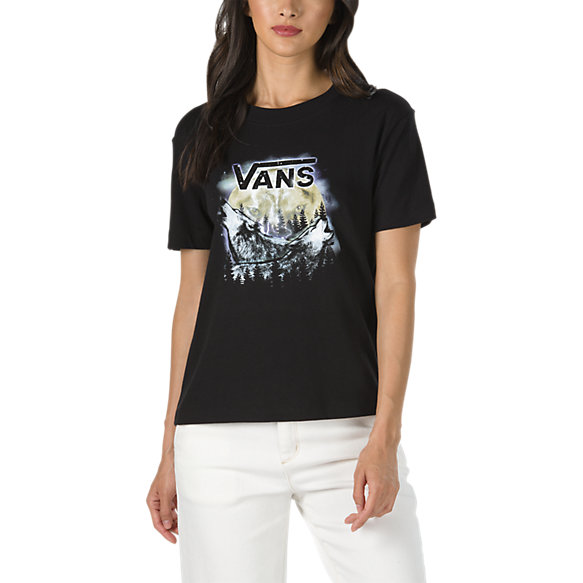 Lunar Boxy Tee | Shop Womens Tees At Vans