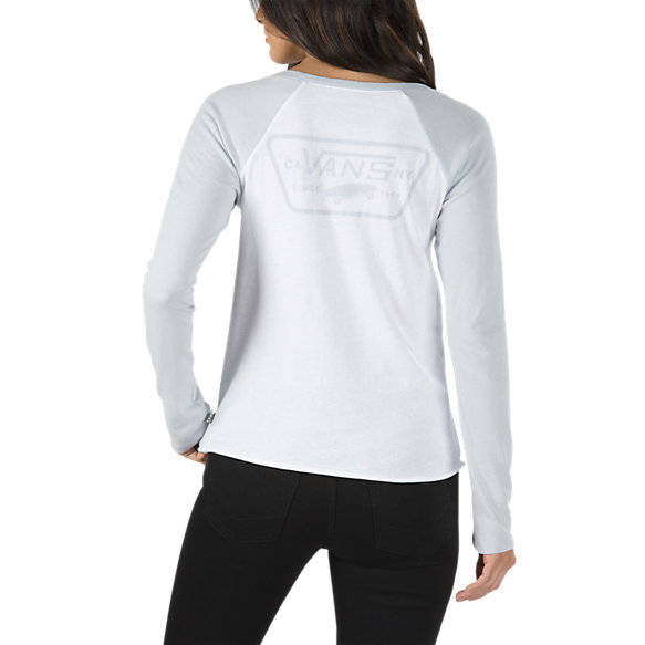 Full Patch Long Sleeve Raglan