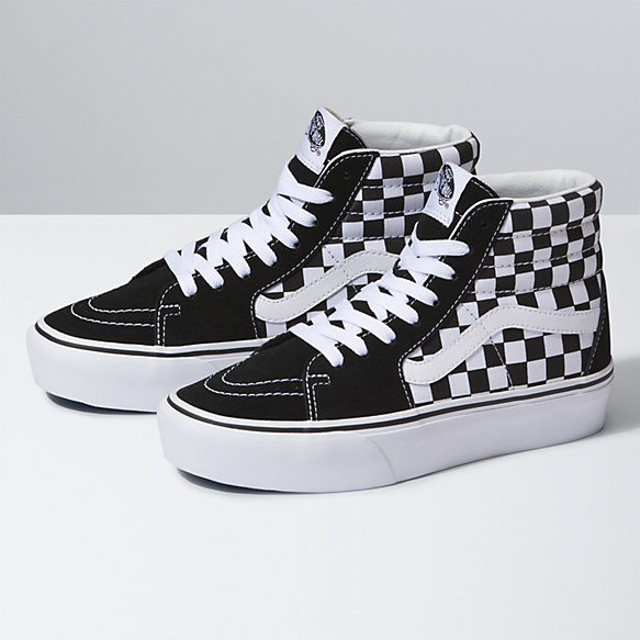 vans UA SK8 Hi (All Over Checkerboard) (All Over