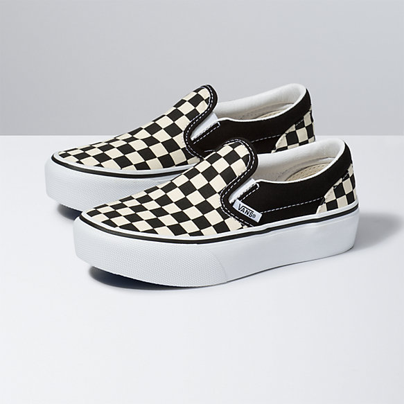 Kids Classic Slip-On Platform