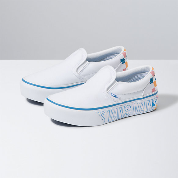 Kids Slip-On Platform