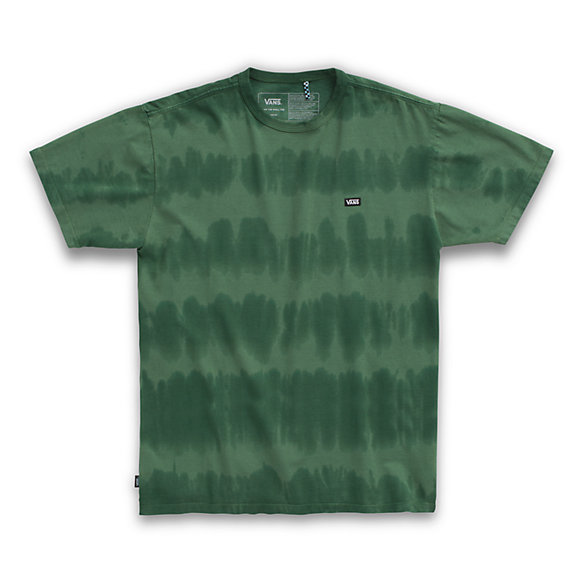 Off The Wall Classic Striped Tie Dye Tee