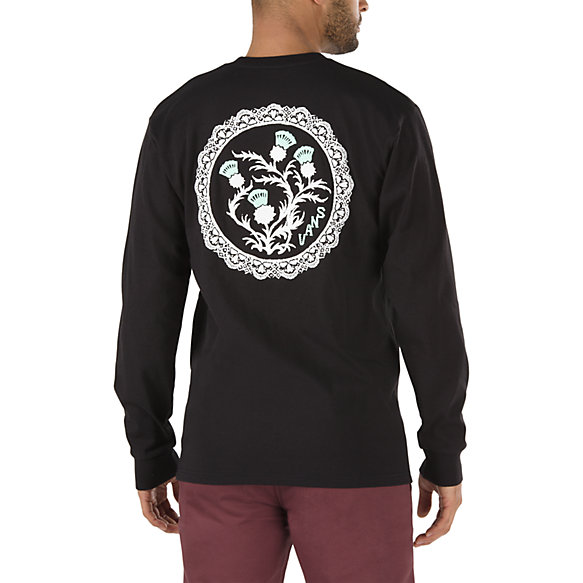Laced  Long Sleeve T-Shirt