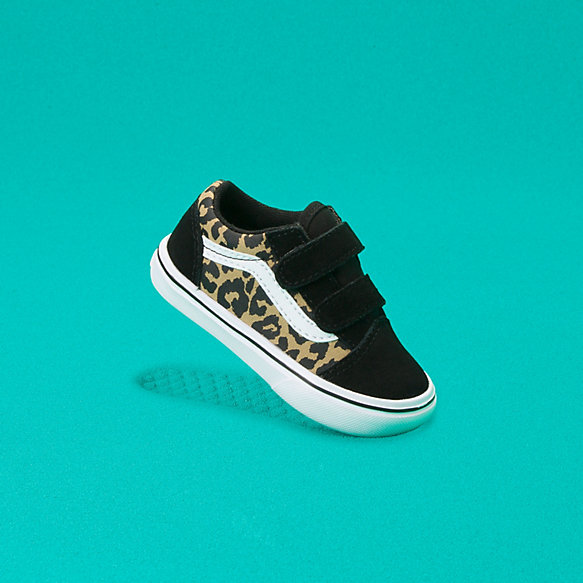 Toddler Leopard ComfyCush Old Skool V