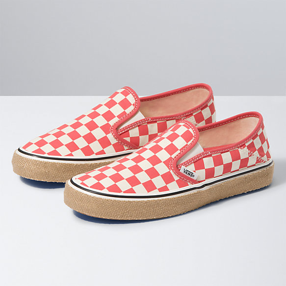 Checkerboard Slip-On Espadrille SF
