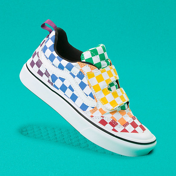 Kids Checkerboard ComfyCush New Skool V
