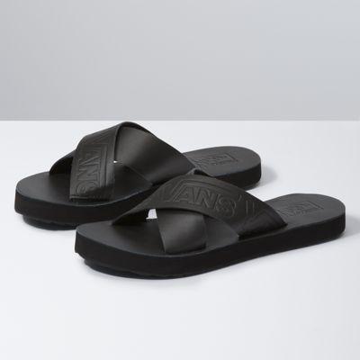 vans sandals 2 straps