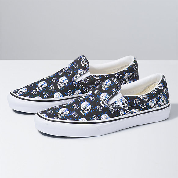 Flash Skulls Classic Slip-On