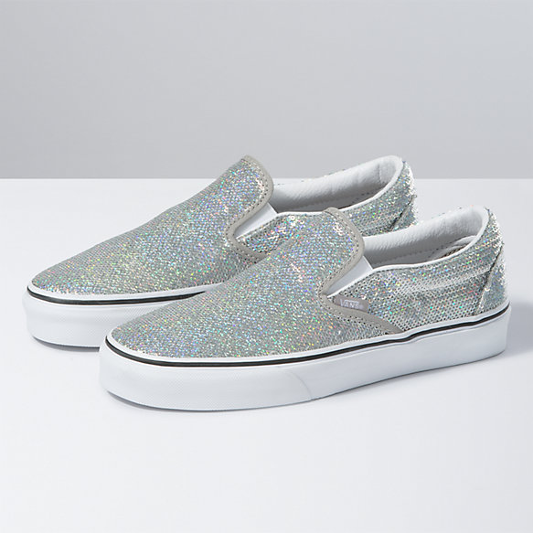 Micro Sequins Classic Slip-On