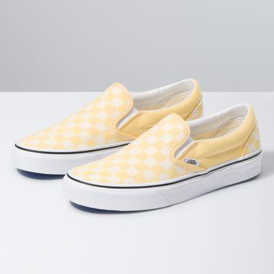 Checkerboard Mod Slip On   Vans CA Store