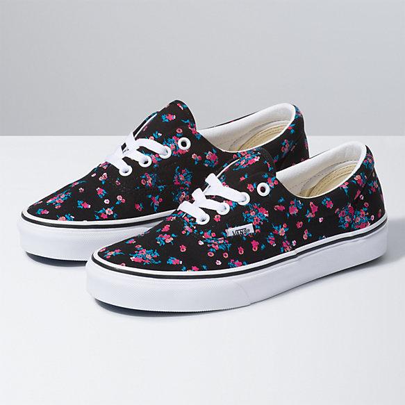 vans floral chaussure