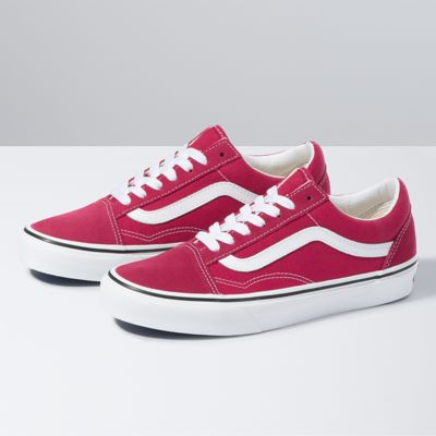 Vans Old Skool (Cerise/True White)