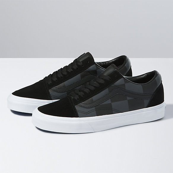 Leather/Suede Check Old Skool