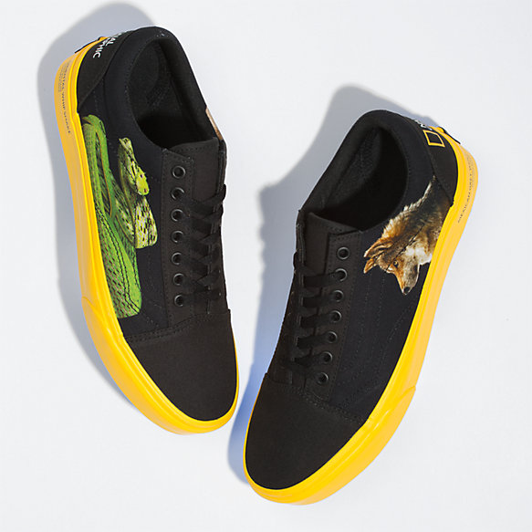 Vans X National Geographic Photo Ark Old Skool