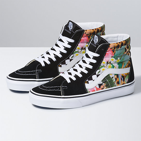 Tropical Animal Check SK8-Hi