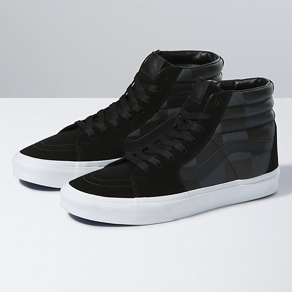 Leather/Suede Check Sk8-Hi