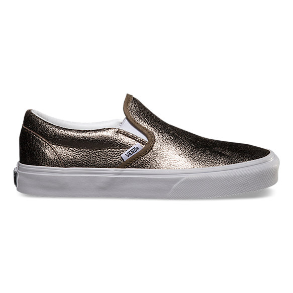Metallic Slip-On