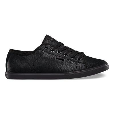 Free delivery -  Vans Ferris Lo Pro Womens Shoes Herringbone Suede/Black
