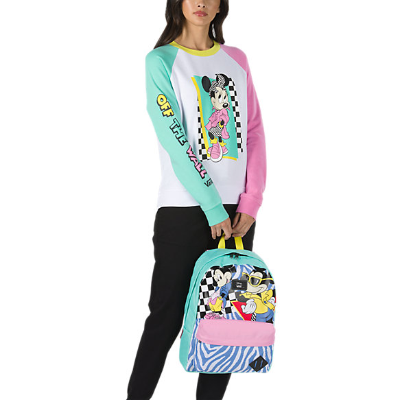 391bd04f0f Disney x Vans Hyper Minnie Mouse Crew Sweatshirt